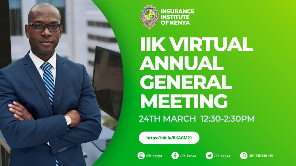 IIK Virtual AGM Poster