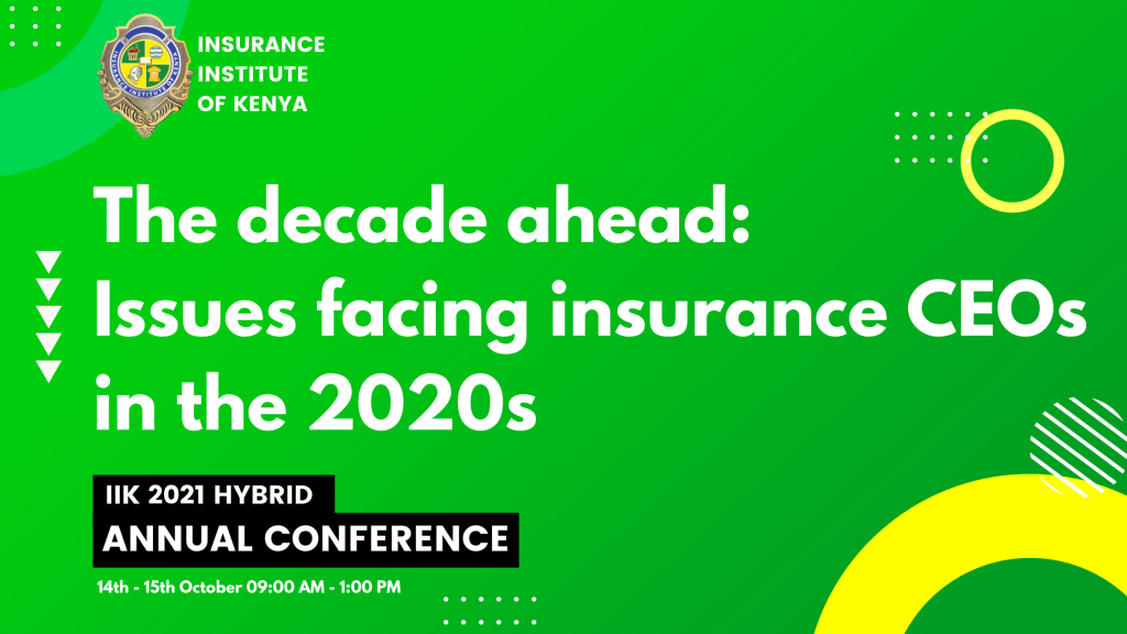 The decade ahead: Issues facing insurance CEOs in the 2020s